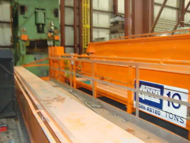 10 Ton Acco Overhead Bridge Crane For Sale