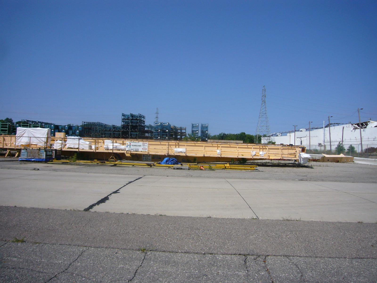 50/15 Ton P&H Overhead Bridge Crane For Sale