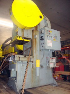 70 Ton Heim Single Crank Back Geared Gap Frame Press