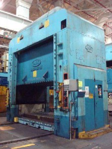 1,000 Ton Danly Underdrive Press For Sale