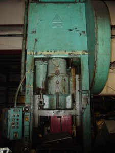 200 Ton Clearing Straight Side Press