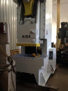 200 Ton Aida Gap Frame Press