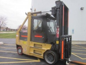 30,000lbs. Taylor Hard-Tired Forklift For Sale