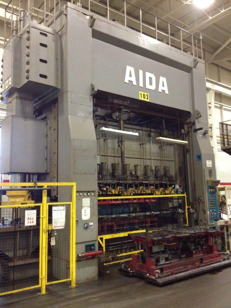 800 Ton Aida Press For Sale