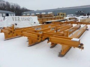 Six (6) 3 Ton Mt. Clemens Cranes - SOLD