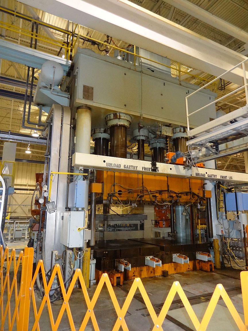 2000 Ton Williams and White Hydraulic Press - SOLD CALL FOR