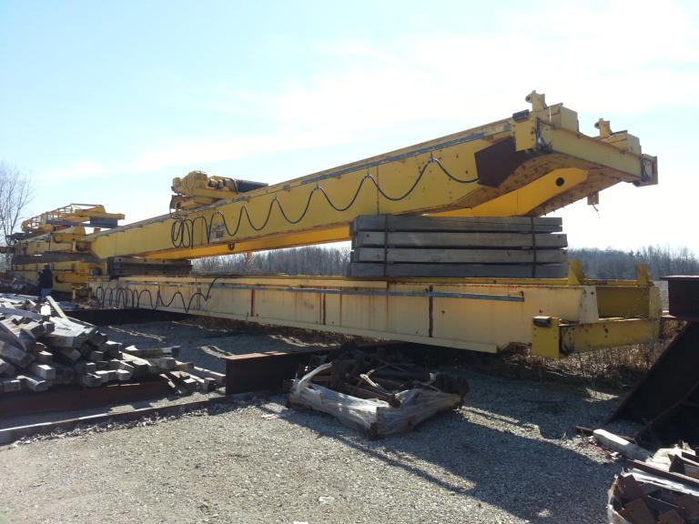 25 Ton Grand Traverse Overhead Bridge Crane For Sale