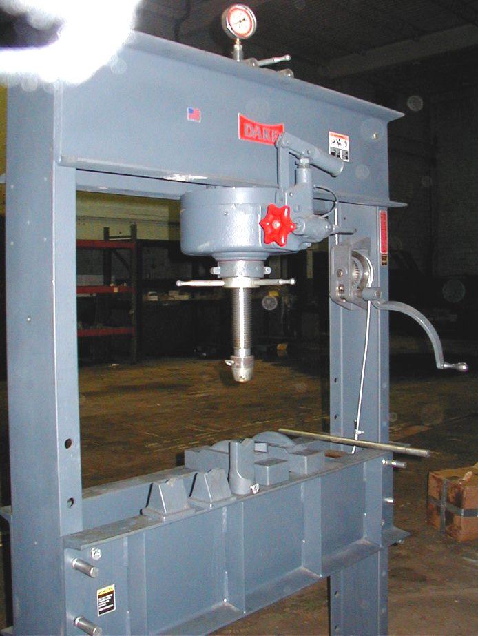 75 Ton Dake H-Frame Press