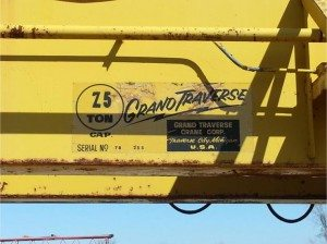 overhead bridge crane 8