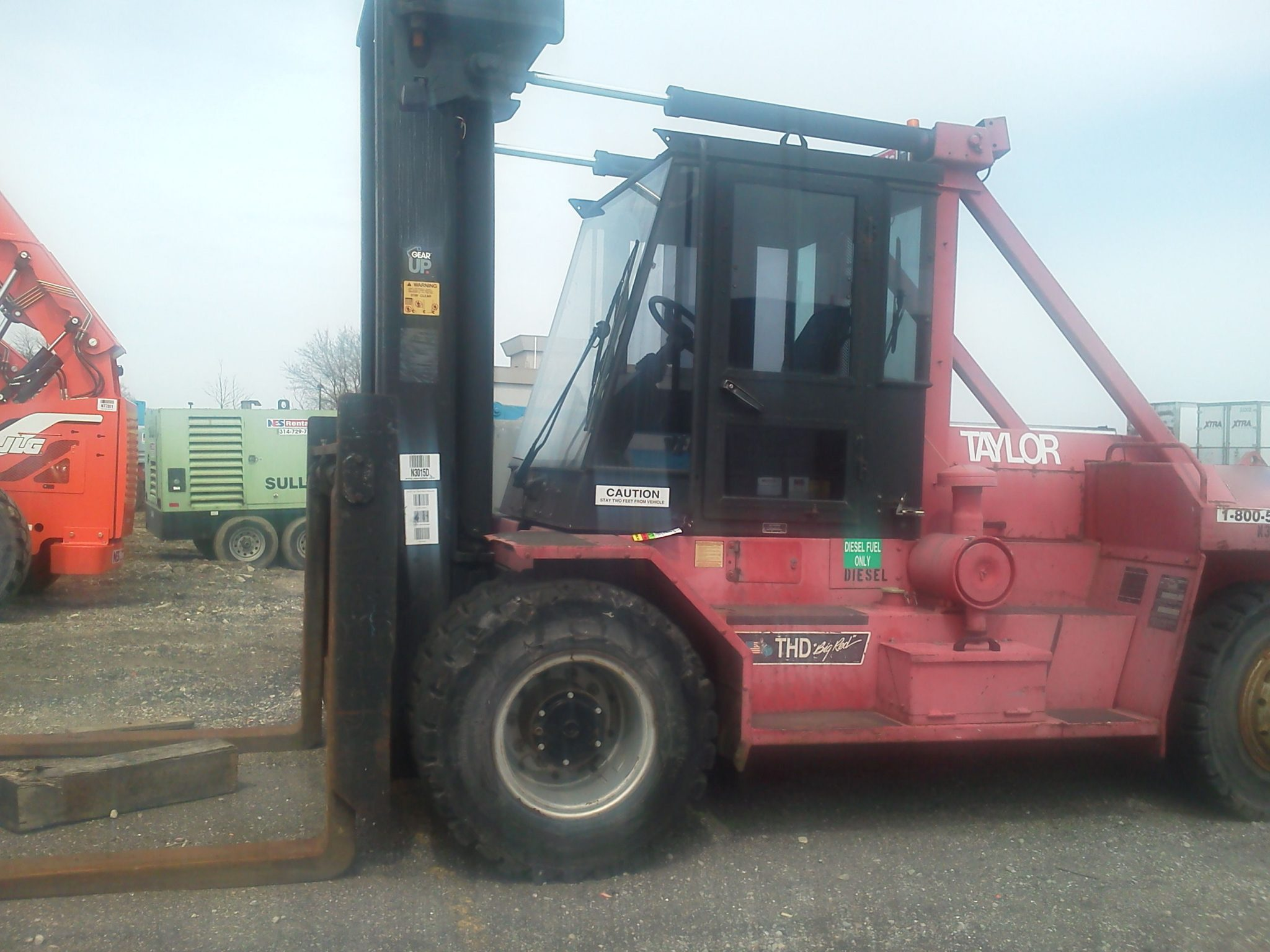 30,000lbs. Taylor Forklift For Sale