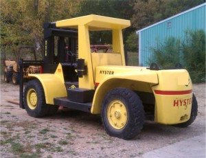 Hyster 30,000 lbs Air Tire Forklift For Sale