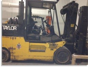 30,000lbs. Taylor T-300 Forklift For Sale