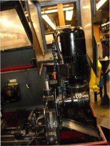 Cold Saw motor pic
