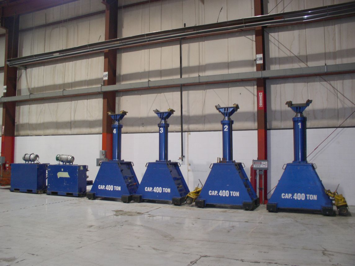 400 Ton Lift Systems Gantry For Sale