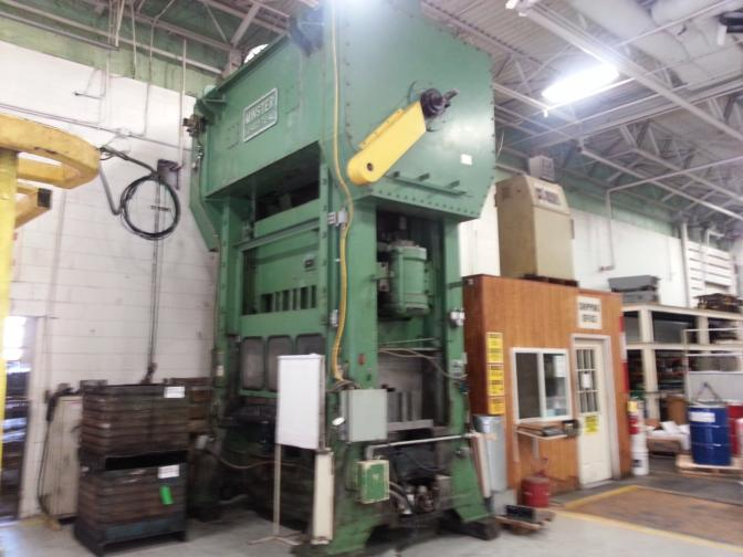 400 Ton Minster Straight Side Press For Sale | Call 616-200