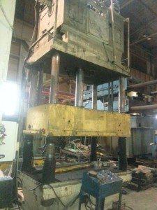 200 Ton Bentler Hydraulic Press 1