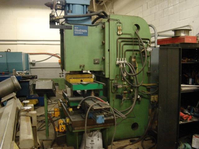 200 Ton C-Frame Steelcase Hydraulic Press
