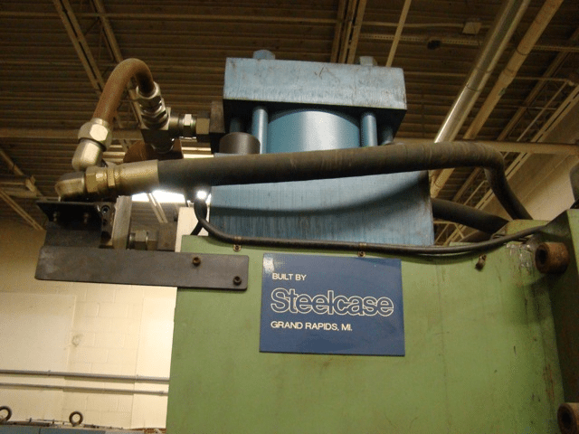 200 Ton C-Frame Steelcase Hydraulic Press | Call 616-200
