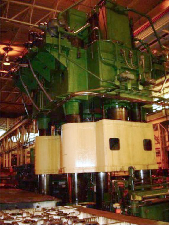 5000 Ton Bliss Hydrualic Press For Sale