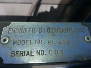 Engineered Lubricants Co. Coolant Recycler 5