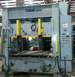100 Ton Asai Press For Sale