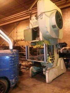 110 Ton Brown and Boggs OBI Press