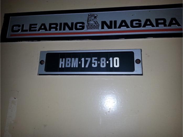 Clearing Niagara Flange Bed Press Brake pic 6