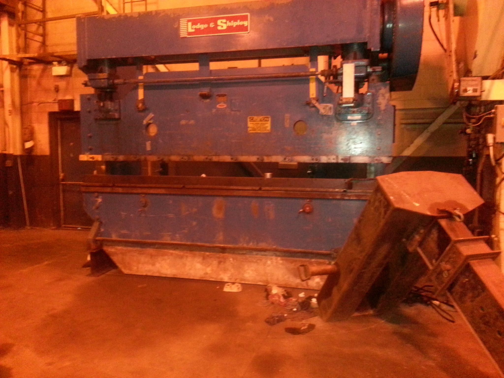 Lodge and Shipley Press Brake 3