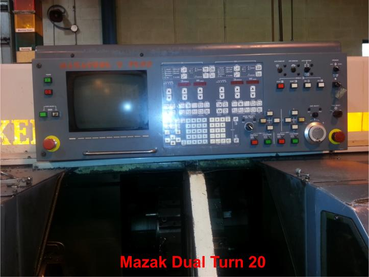 Mazak Dual Turn 20 Twin Spindle - Two Available (one for