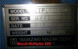 Mazak Multiplex 620 pic 06