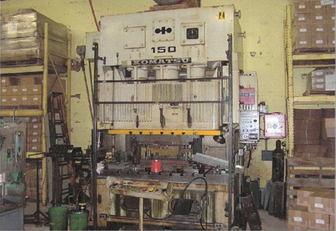 165 Ton Komatsu Press For Sale