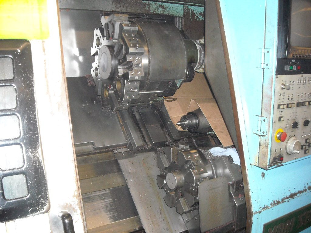 Mori Seiki ZL-25MC/500 Dual Turret CNC Lathe Turning Center