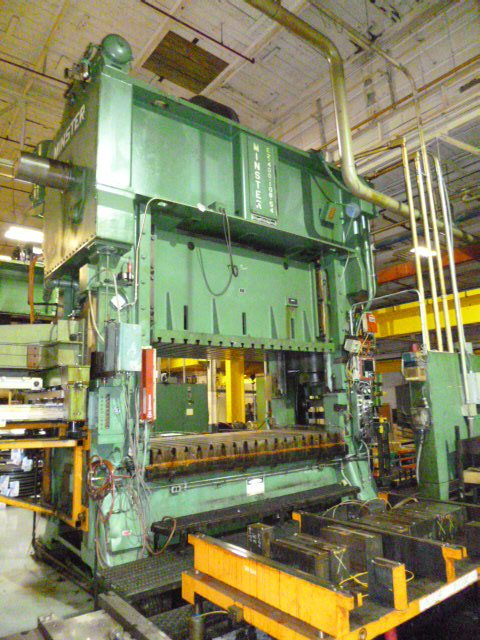 400 Ton Minster Press For Sale