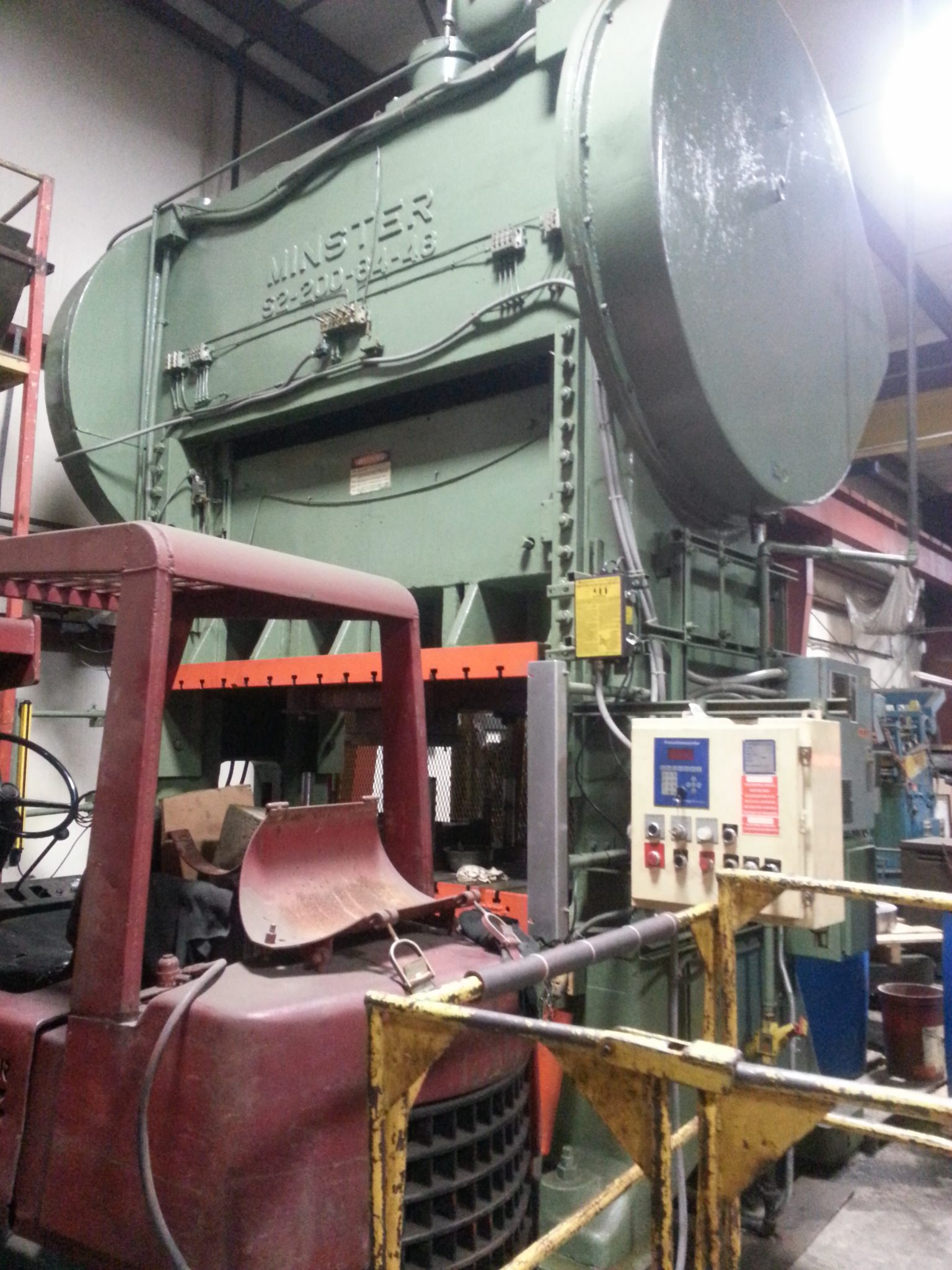 250 Ton Minster Press For Sale