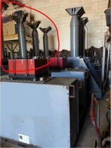 400 Ton Lift Systems 22A Hydraulic Gantry Crane 11