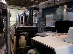 80,000lb Bristol Forklift 9