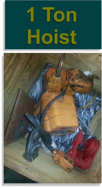 1 Ton Ingersol Rand Electric Hoist