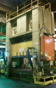 600 Ton Bliss Straight Side Press