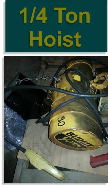 1/4 Ton Budgit Electric Hoist