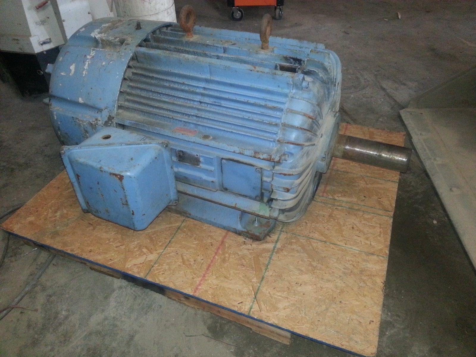 125 HP Delco Electric Motor 1
