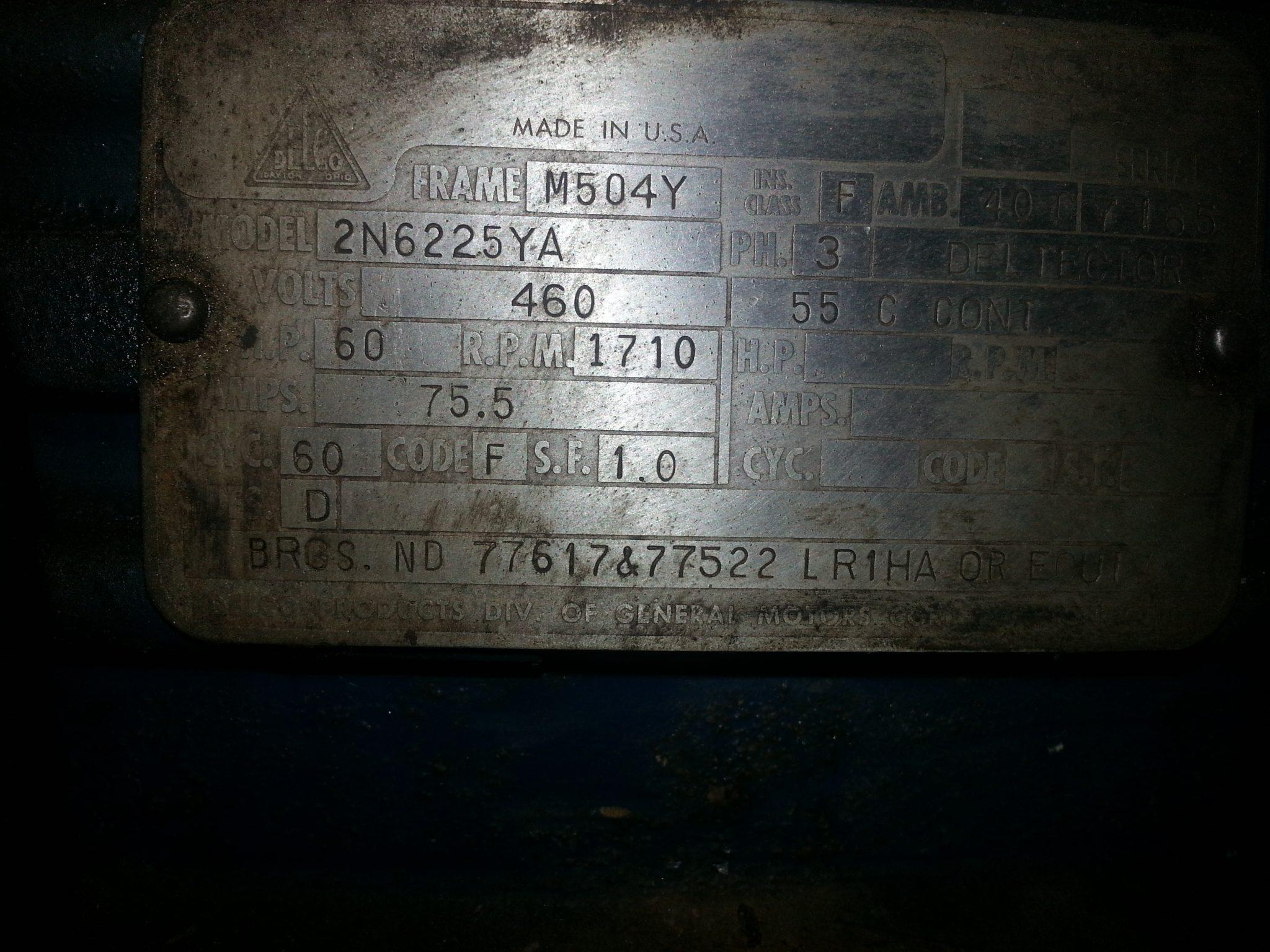 60 HP Motor (1)