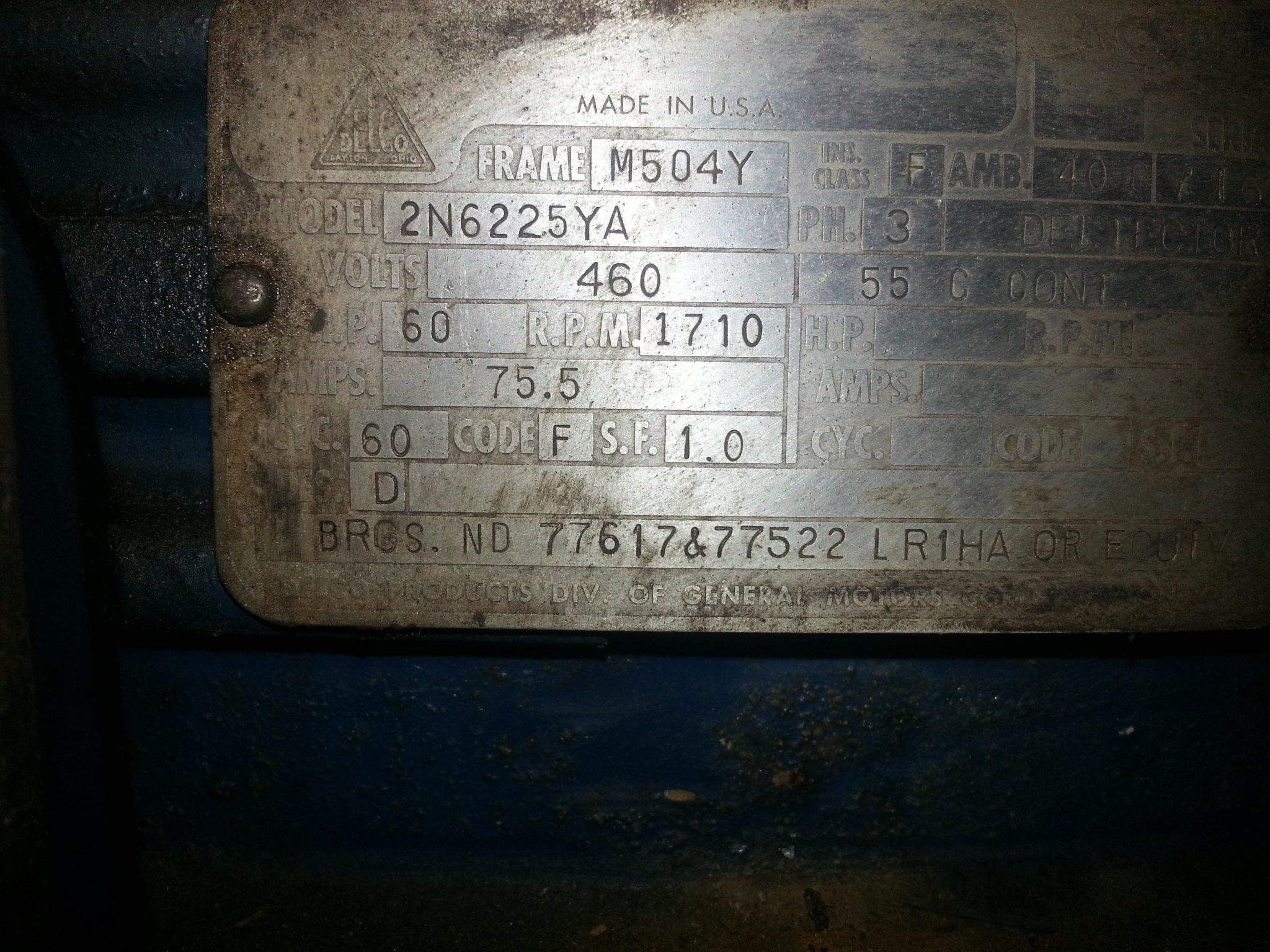 60 HP Motor (3)