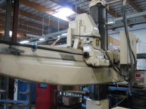 Giddngs & Lewis Chipmaster Radial Arm Drill 1