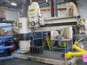 Giddngs & Lewis Chipmaster Radial Arm Drill 2