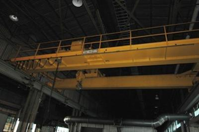 50 Ton P&H Overhead Bridge Crane For Sale