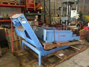 Mayfran magnetic roller separator conveyor