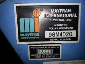 Mayfran Magnetic Roller Conveyor  (5)
