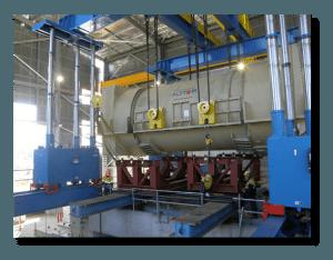 600 Ton Hydraulic Gantry