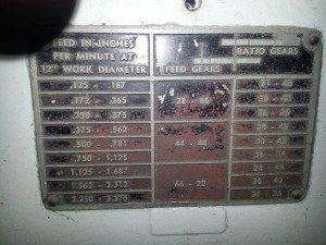 Monarch T Lathe 36 inch 10