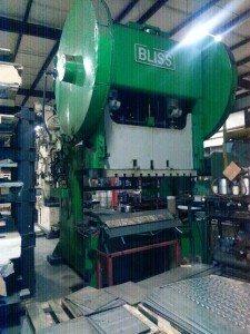 225 Ton Bliss Gap Frame Press (2)